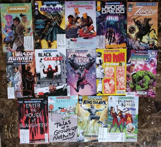 Free Comic Book Day 2021 comics!