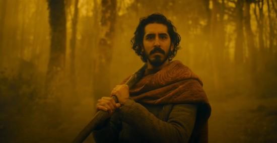 "Gawain in ""The Green Knight""!"