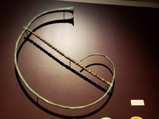 giant Roman horn!