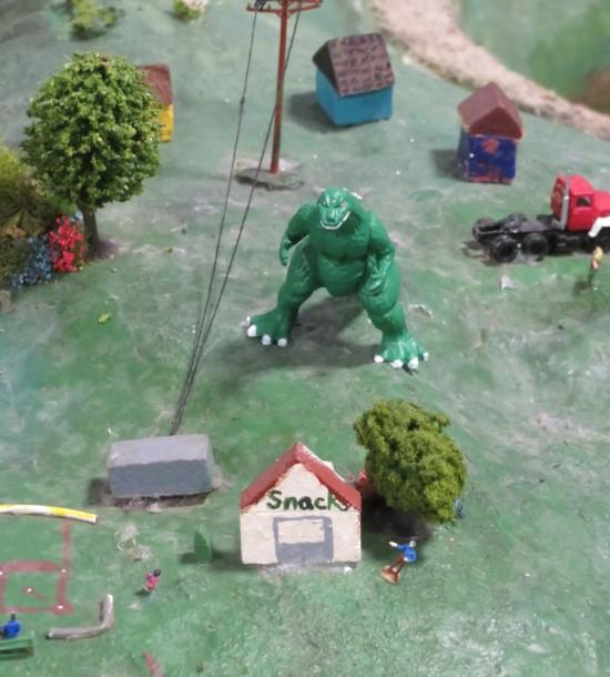 Godzilla vs. Water!