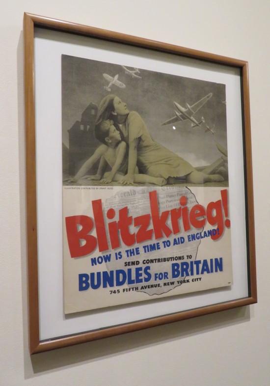 Grant Wood propaganda poster.
