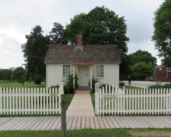 Herbert Hoover birthplace!