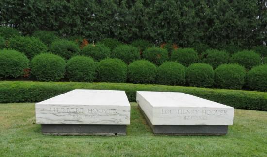 Herbert Hoover gravesite!