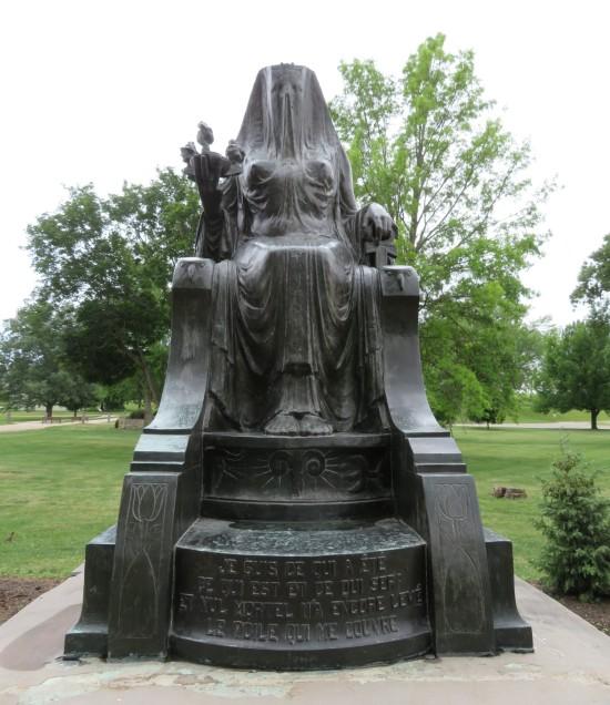 Herbert Hoover's Isis statue!