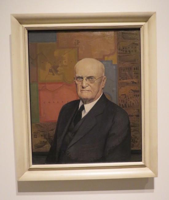 John B. Turner painting.