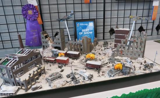 Lego Battle of the Bulge!