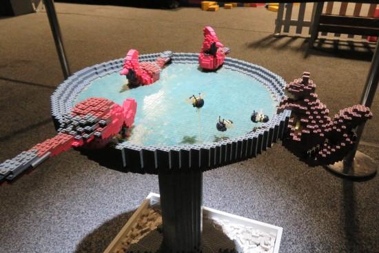 Lego birdbath!