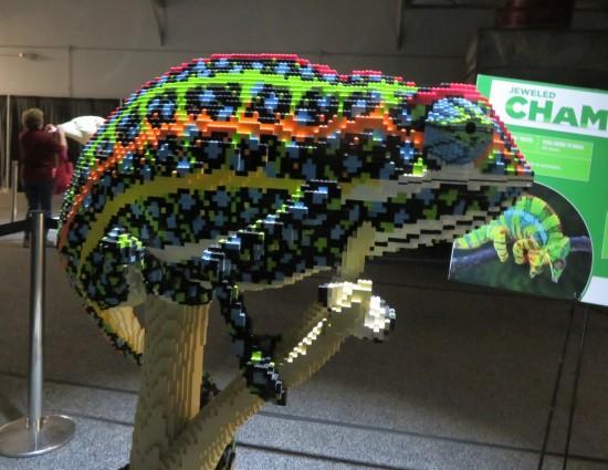 Lego chameleon!