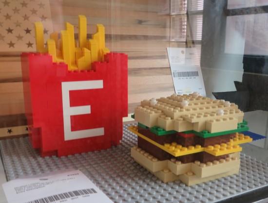 Lego fast food!