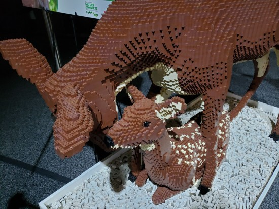 Lego fawn and doe!