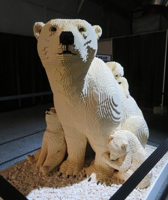 Lego polar bears!