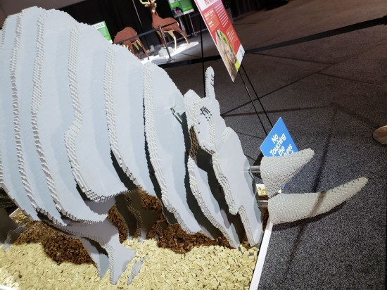 Lego Rhino!