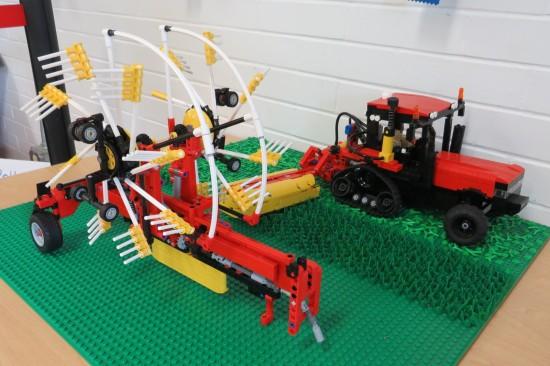 Lego tractors!