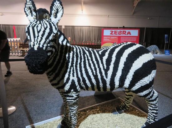 Lego zebra!