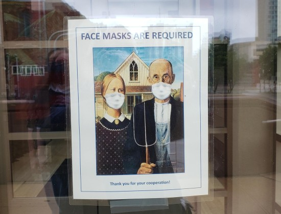 Masked American Gothic!