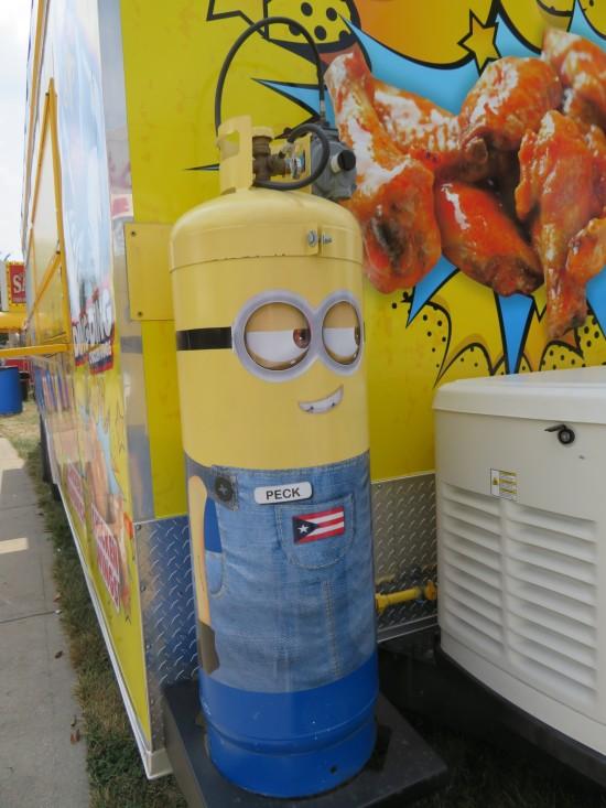 Minion gas tank!