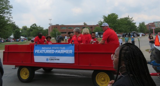 fair parade farmers!