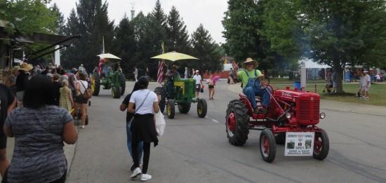 parade tractors!