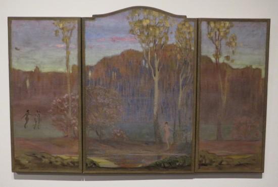 Grant Wood, A Phantasy of Spring.
