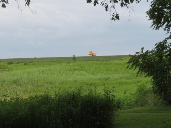Iowa rolling hill!