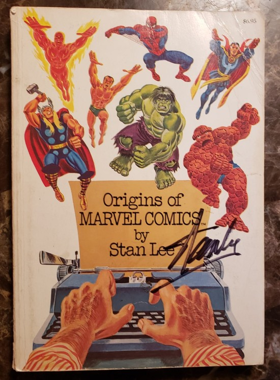 Stan Lee autographed book!