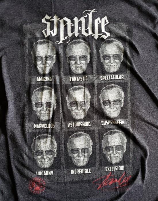 Stan Lee shirt!