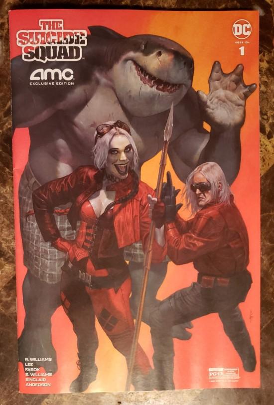 Suicide Squad Free AMC Comic!