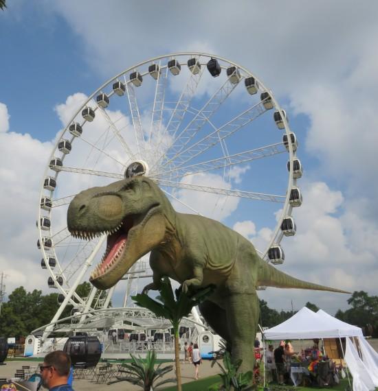 State Fair T-Rex!