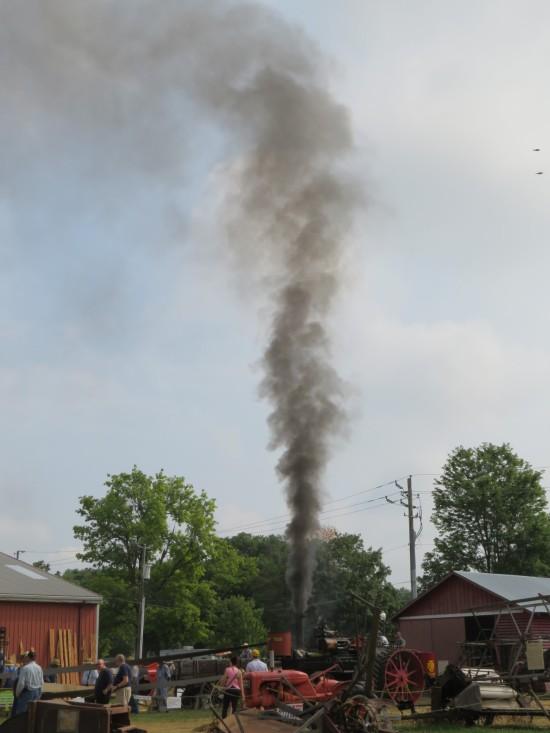 tractor smoke!