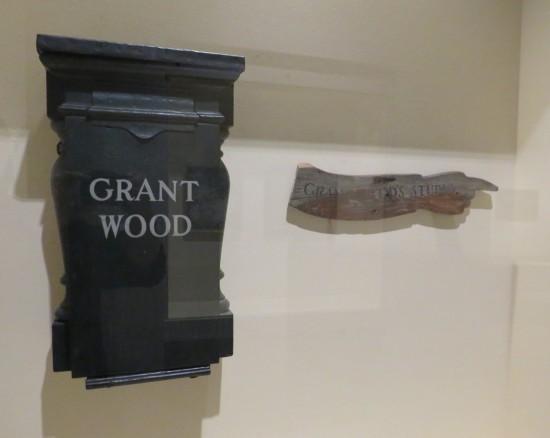 Grant Wood studio decor!