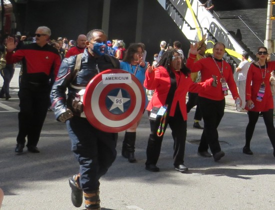 Americium cosplay!