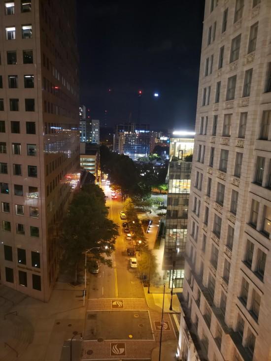 Atlanta hotel window view!