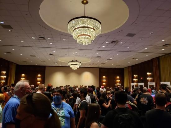 Dragon Con ballroom line!