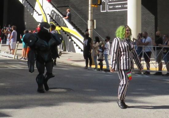 Beetlejuice cosplay!