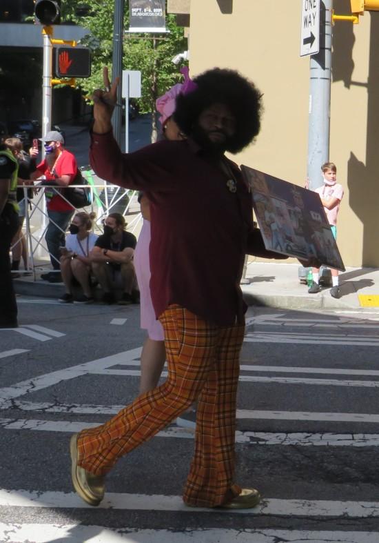 Black painter cosplay!