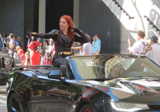 Black Widow cosplay!