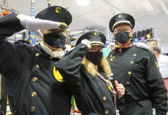 Blackhawks cosplay!