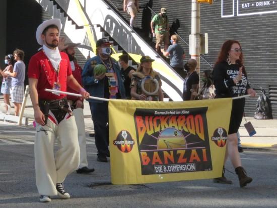 Buckaroo Banzai cosplay!