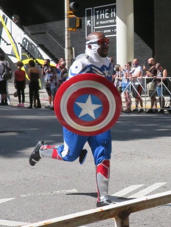 Captain America cosplay!