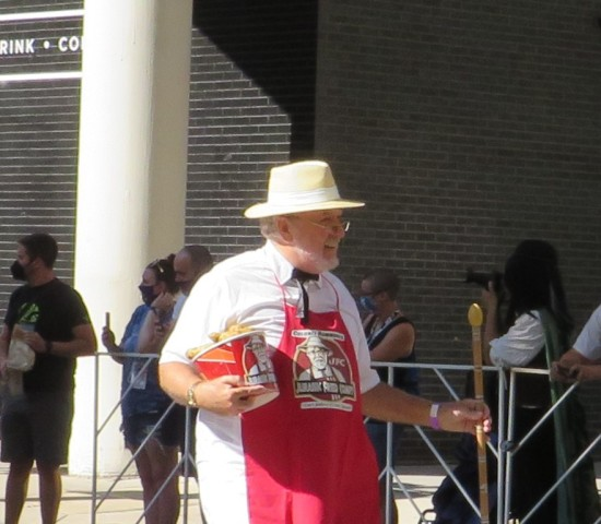 Colonel Sanders cosplay!