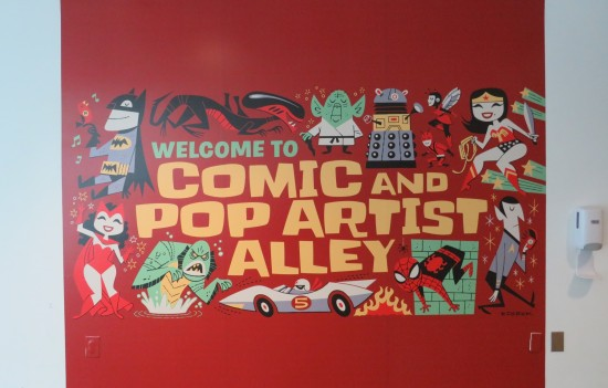 Comic and Pop Artist Alley!