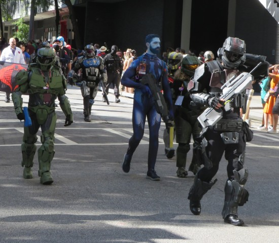 Cortana cosplay!