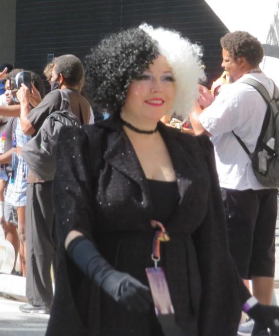 Cruella DeVil cosplay!