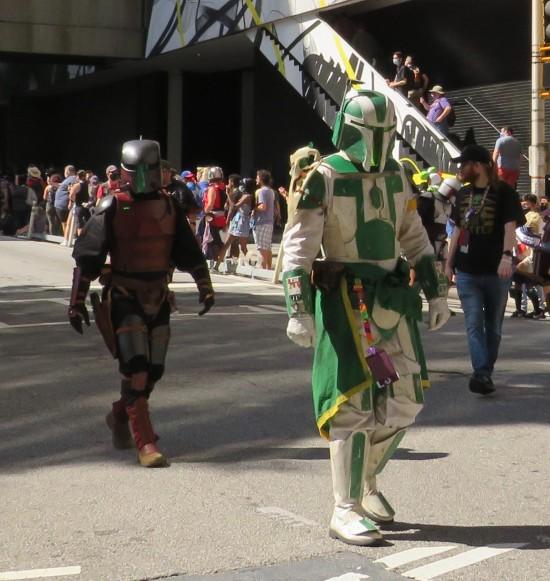 Mandalorian cosplay!