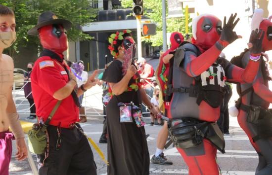 Deadpools cosplay!