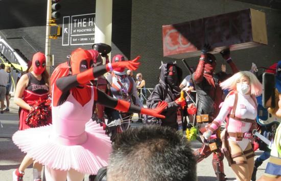 Deadpools Dancing!