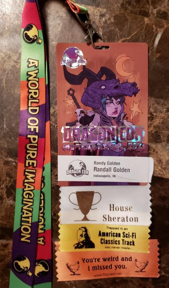 Dragon Con Badge 2021!