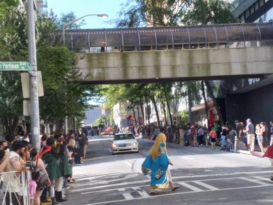 Dragon Con Parade coming!