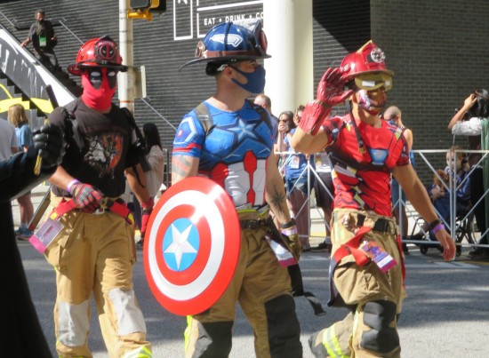 Firefighter Avengers cosplay!