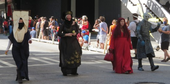 Game of Thrones costumes!